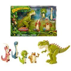 Gigantosaurus and friends figure playset